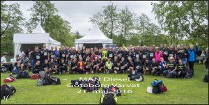 MAN Diesel holdet på i alt 120 deltager